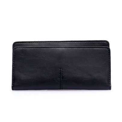 Vintage Plain 2 Folds Wallet