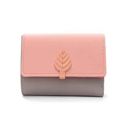 Contracted Color Block Women Wallet