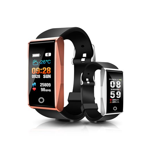 Mate1 Color Smart Bracelet Exercise Heart Rate Blood Pressure