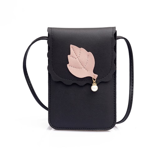Modern Style Magnetic Snap Mini Cross Body Bag