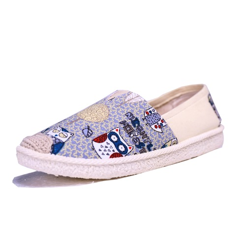Cartoon Cloth Shoes Women's Cute Flats