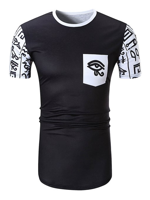 Ethnic Totem Slim Fit Men's T-Shirt