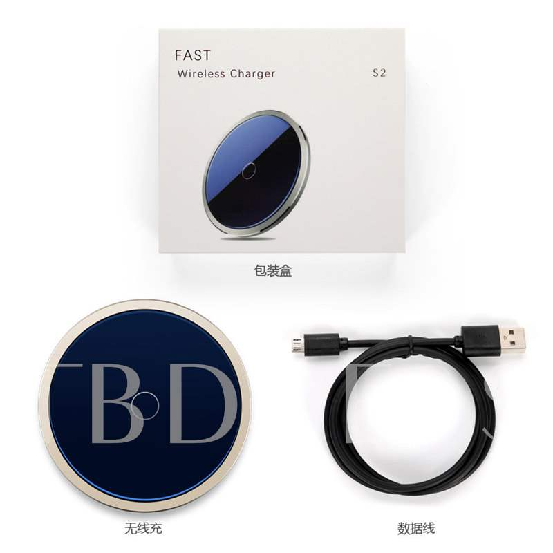 Patented Wireless Fast Charge Base Flash Charger for Samsung Apple iPhone