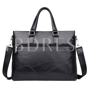 Solid Color Business Unisex Tote Bag