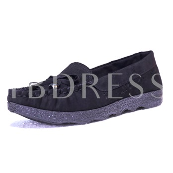 Hollow Out Breathable Women's Flats Shoes