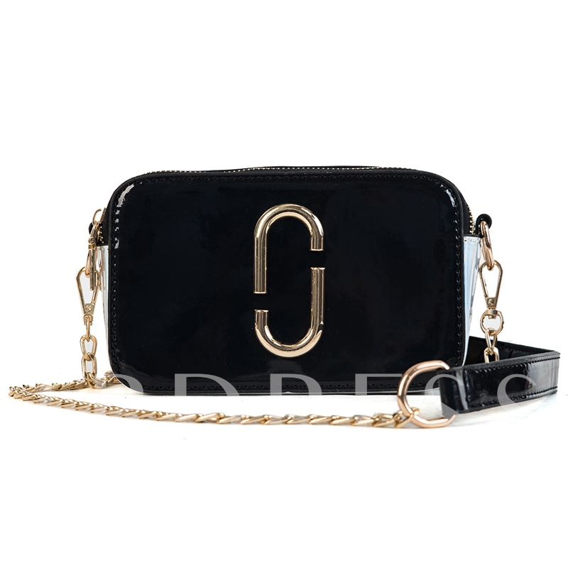Novelty Zipper Women Cross Body Bag
