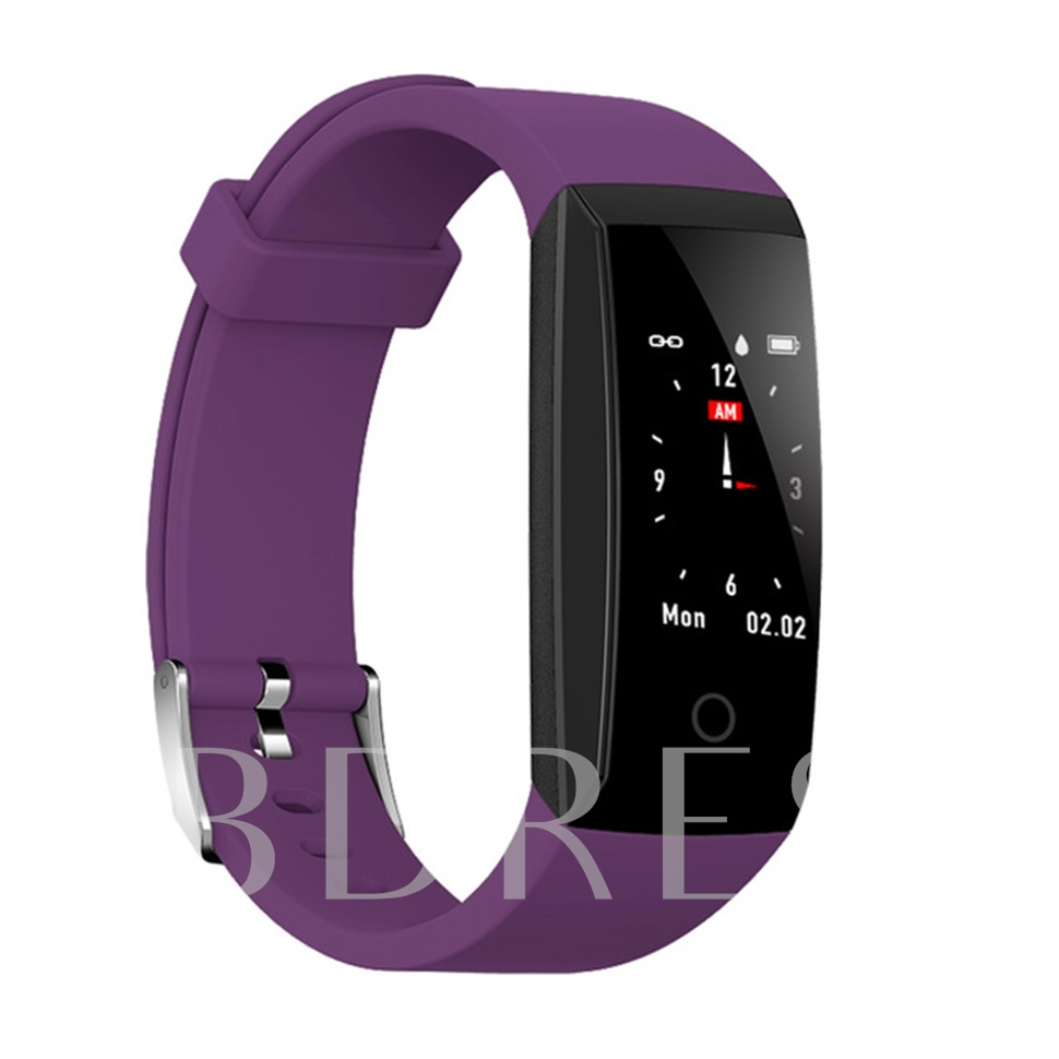 W8 Color Smart Bracelet Continuous Heart Rate IP67 Waterproof Wristband