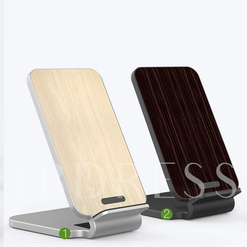Maple Wood Vertical Fast Wireless Charging iphone 8/X Samsung S8