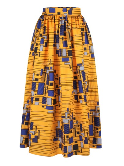 African Printed Dashiki Women's Skirt