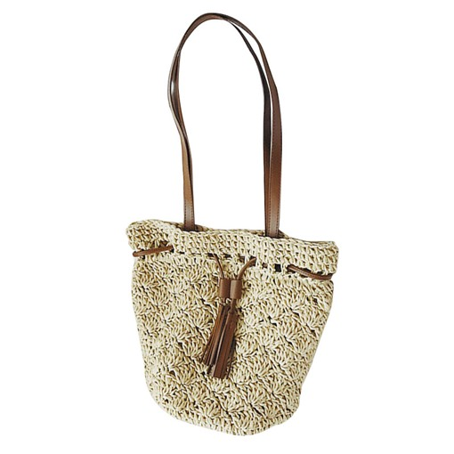 Modern Style Belt Grass Women Shoulder Bag
