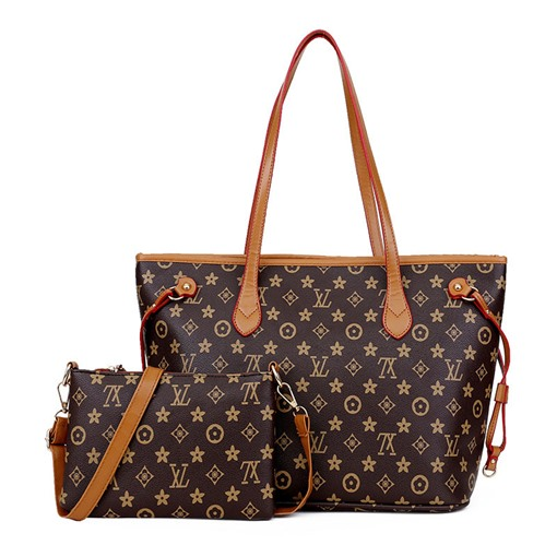Geometric pattern PU Women Bag set