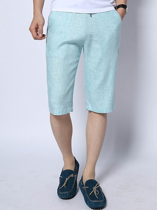 Summer Linen Lace-up Loose Men's Casual Pants