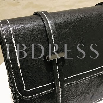 Korean Style Chain Magnetic Snap Shoulder Bag