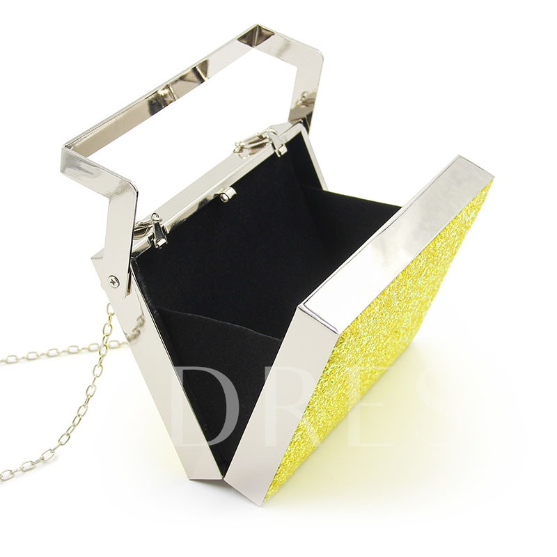 Modern Style Colorful Sequins Chain Clutch