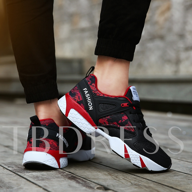 Breathable Mesh Durable Athletic Shoes for Men