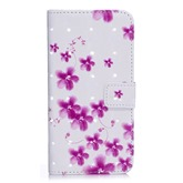 Sakura iPhone X/7/8 Plus Flip Phone Case Painted Protective Holster