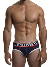 Color Block Breathable Cotton Boxer Briefs for Men