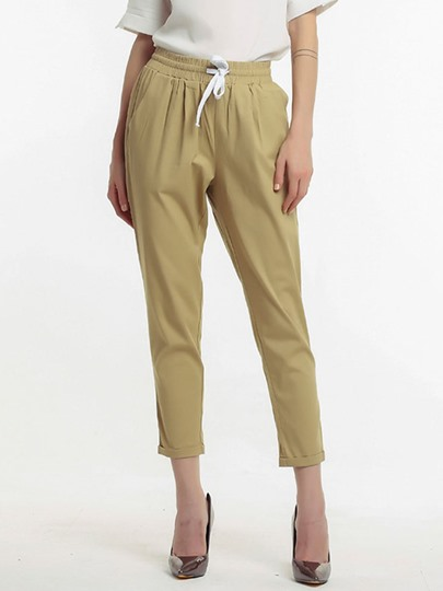 Plain Casual Loose Women's Harem Pants
