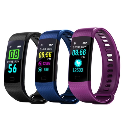 Y5 Color Display Bracelet USB Direct Charging Heart Rate Information Reminder