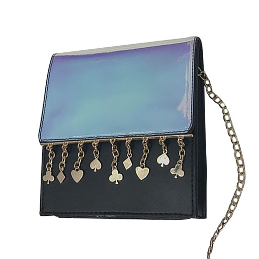 Modern Style Polyester Chain Tote Bag