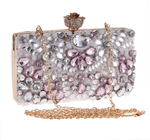 Polyester Party European Clutches & Evening Bags