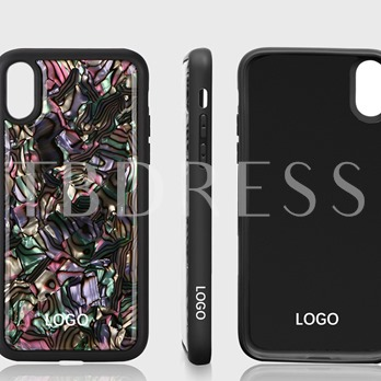 Epoxy Apple iphone 8/plus Color Three-dimensional Phone Protective Shell