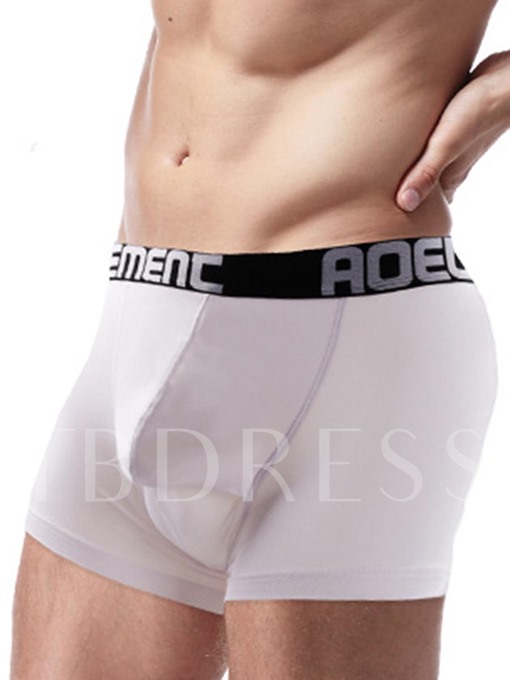 Moda Soft Widen Waistband U Shaped Boxer Briefs for Men