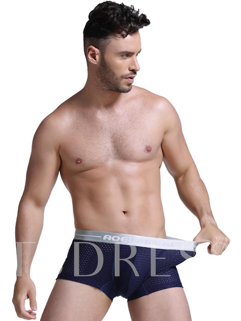 Seamless Breathable U Convex Thin Modal Boxer Briefs for Men
