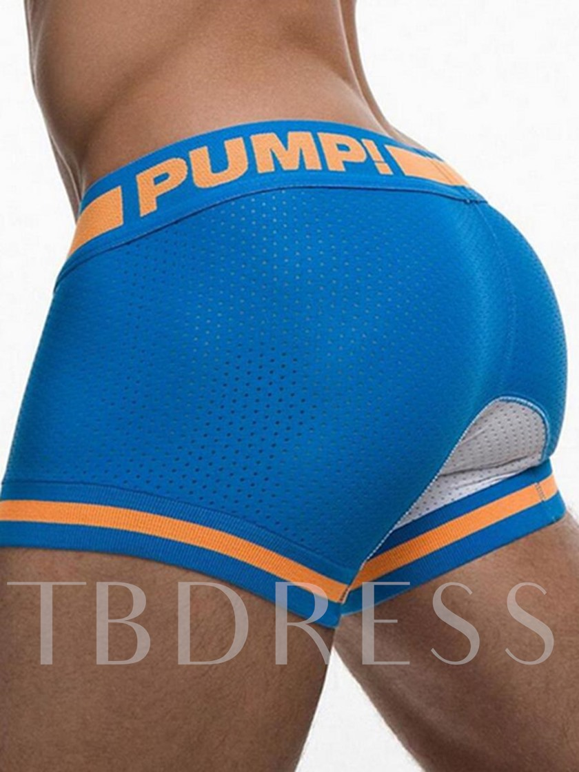 Breathable Front Opening U Convex Boxer Briefs