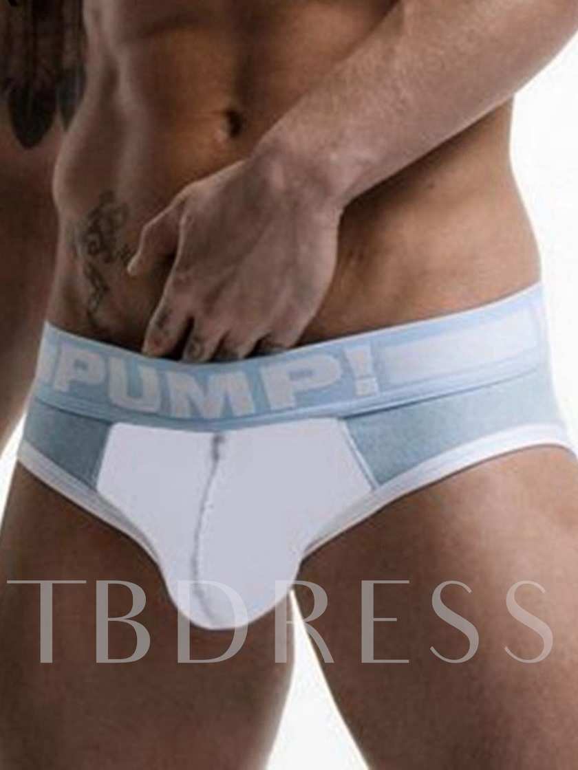 Sexy U Convex Cotton Breathable Men's Briefs