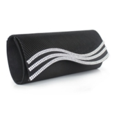 Luxury Style Water Ripple Magnetic Snap Clutch