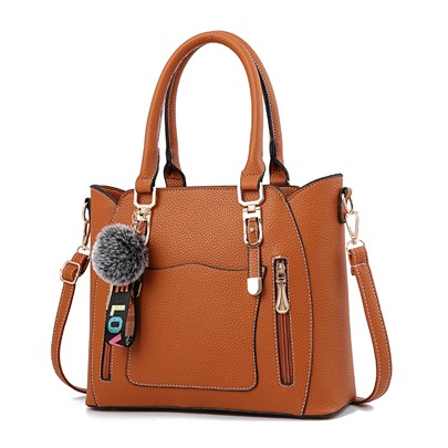 Occident Style Colorful Plain Soft Tote Bag