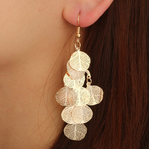 Vintage Multilayer Tassel Sequins Earrings