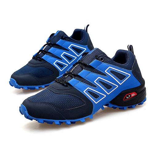 Lace-Up Mesh Round Toe Ventilate Men's Shoes