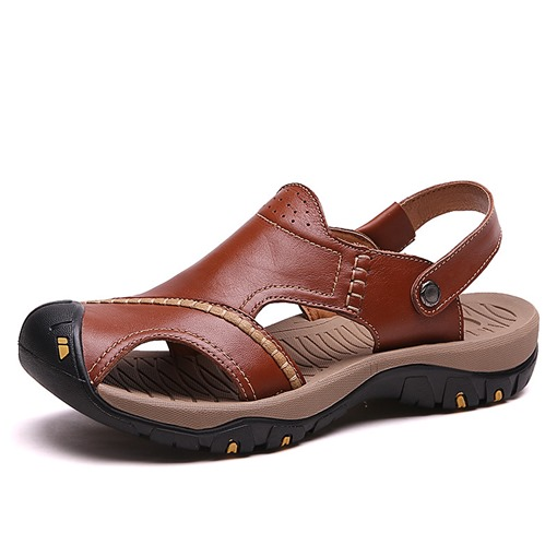 Summer Closed Toe Slip-On Man's Sandals