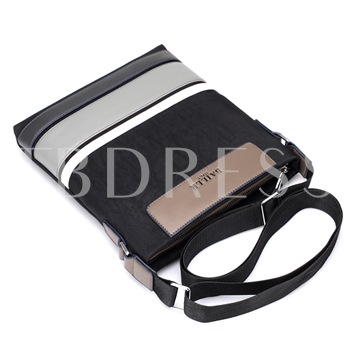 Occident Style Color Block Crossbody Bag