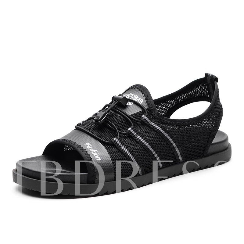 Mesh Elastic Beash Sandals Light Shoes for Men