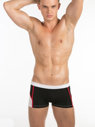 Sexy U Convex Pouch Men's Boxer Briefs