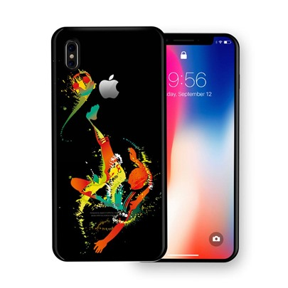 World Cup Football Game TPU Silicone Painted Phone Shell IphoneX