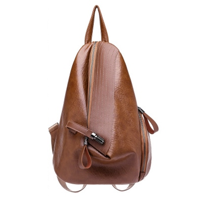 Retro Vintage Plain Women Backpack