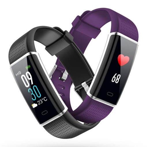 Smart Bluetooth Caller Dynamic Heart Rate Waterproof Sports Bracelet