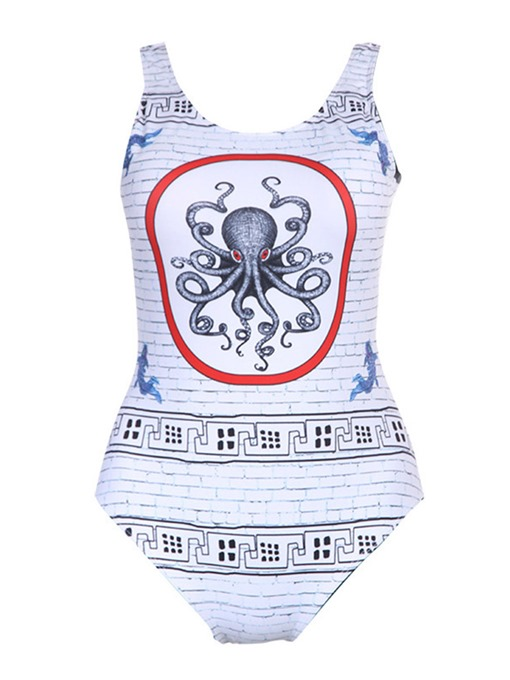 Octopus One Piece Bathing Suits