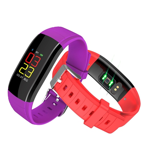 Smart Bracelet Waterproof Fitness Heart Rate and Blood Pressure Bracelet