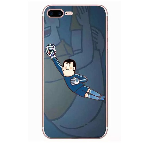 World Cup Football Game TPU Painted Phone Shell IphoneX/8
