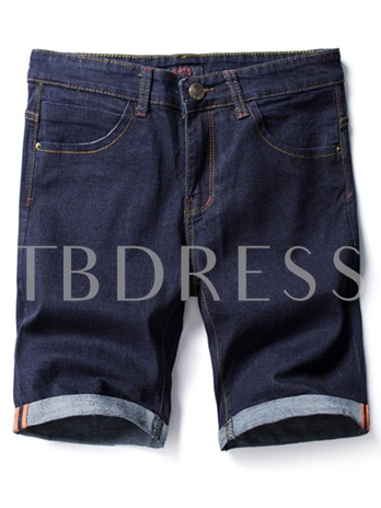 Thin Leisure Loose Men's Short Jeans