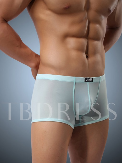 Breathable Thin Ice Silk Men's Boxer Briefs