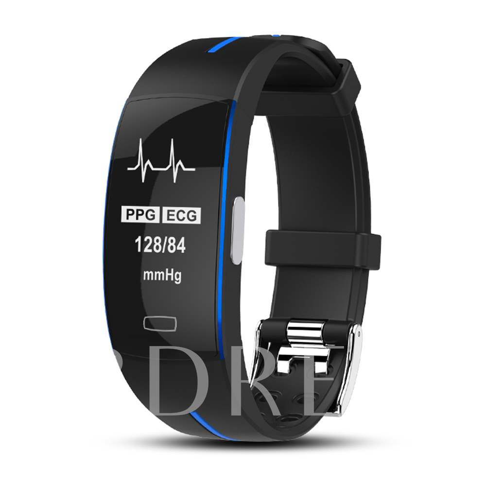 Smart Bracelet PPG+ECG Electrocardiogram Measurement IP67 Waterproof