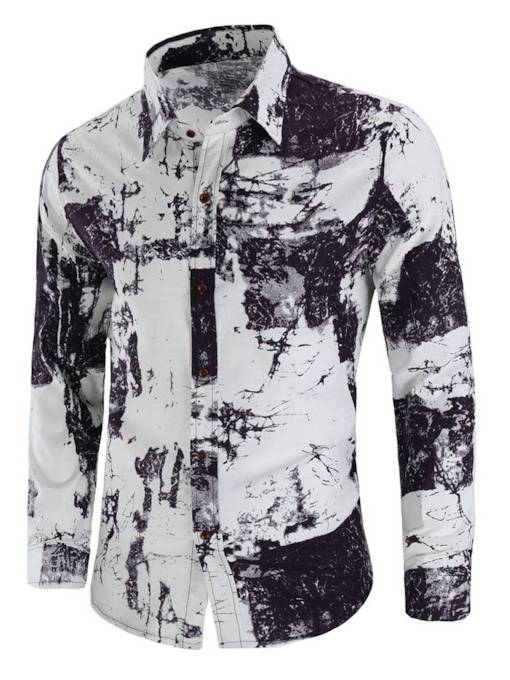 Chinese Style Linen Loose Men's Shirt
