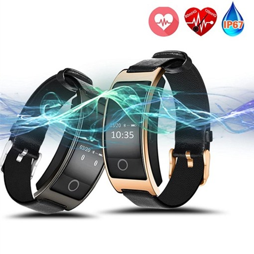 Smart Waterproof Bracelet Heart Rate Blood Pressure Sleep Step Counter