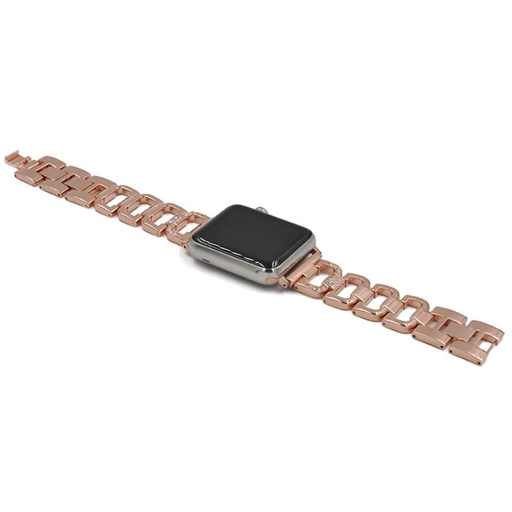Applicable to Apple Smart Watch Stainless Steel Strap